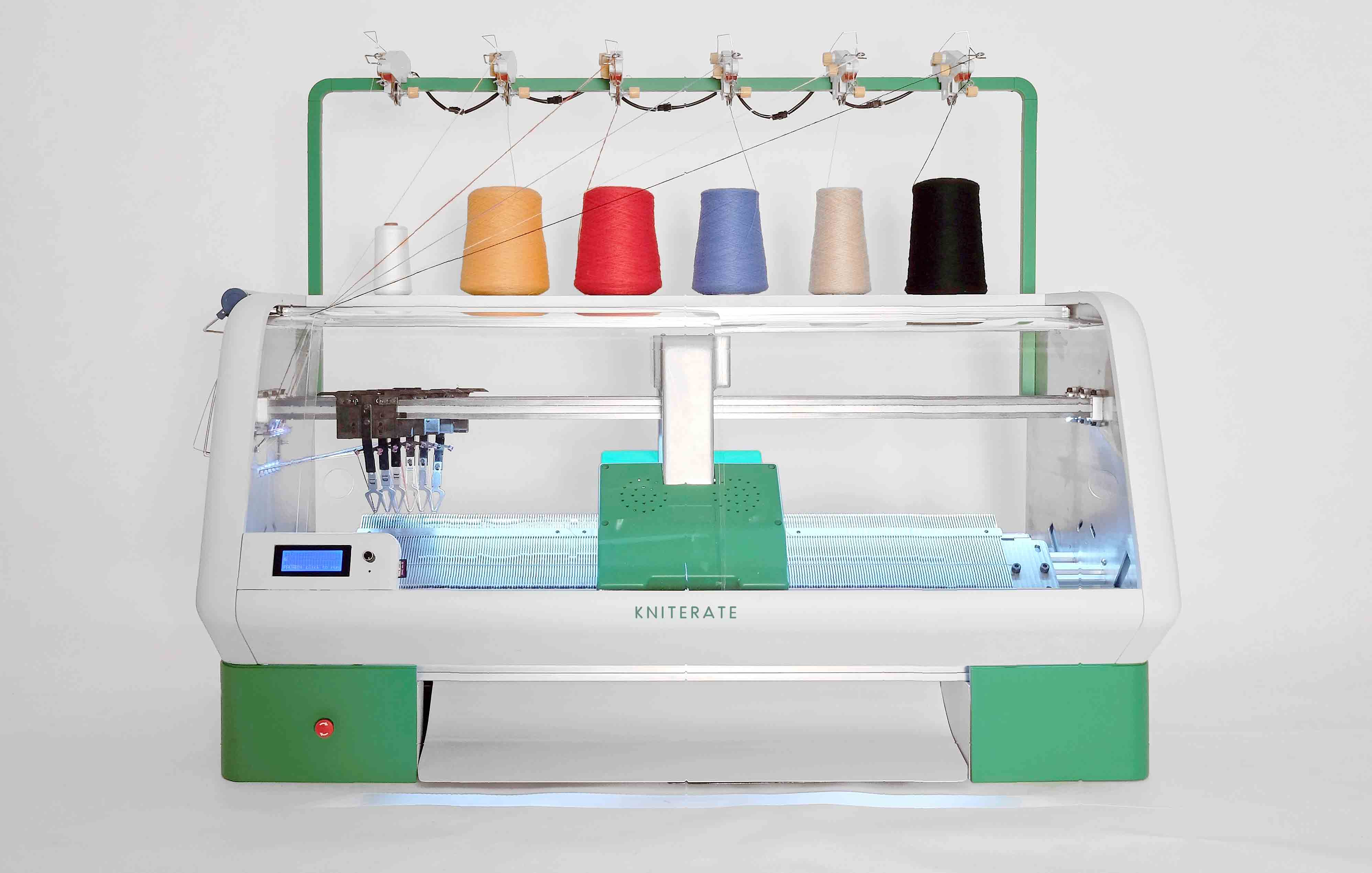 Kniterate | The Digital Knitting Machine Kniterate: the Digital ...